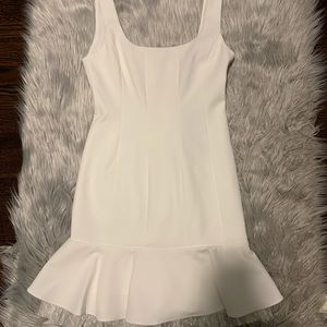 BCBGMAXAZRIA Off White Dress